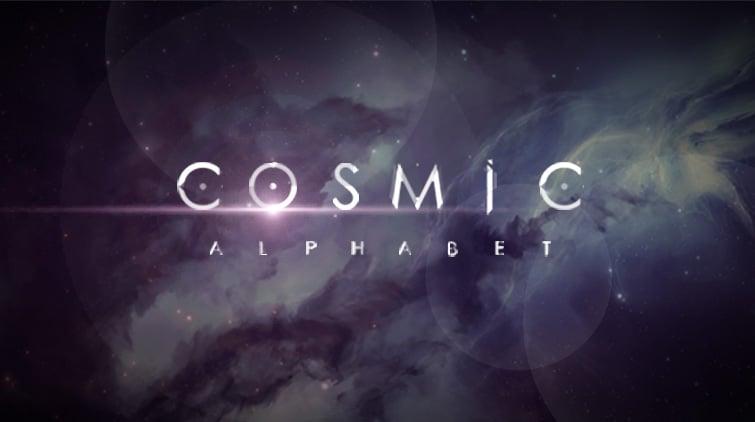 Cosmic Animated Alphabet