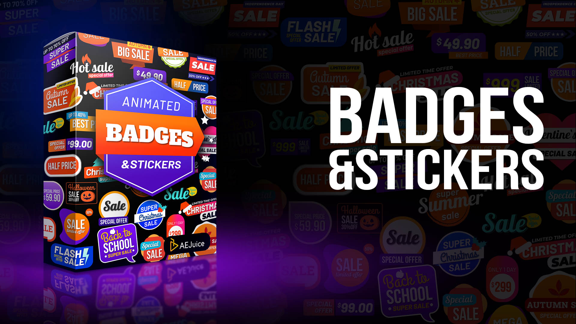 Animated Sales Badges