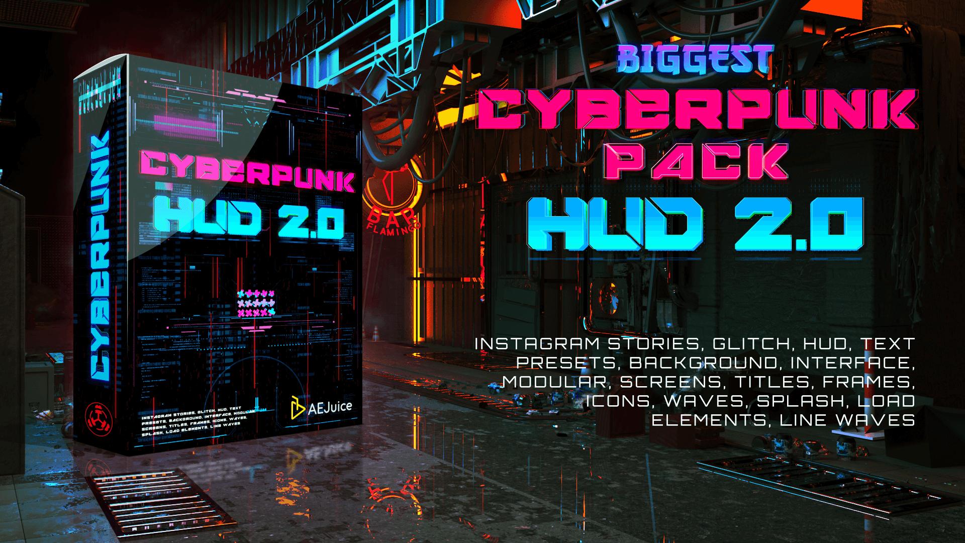Cyberpunk HUD 2