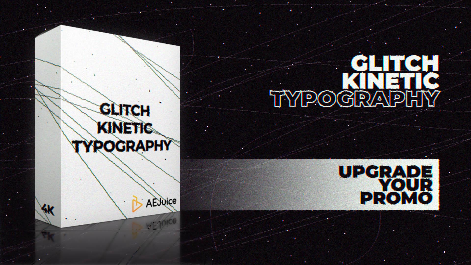 Glitch Kinetic Typography