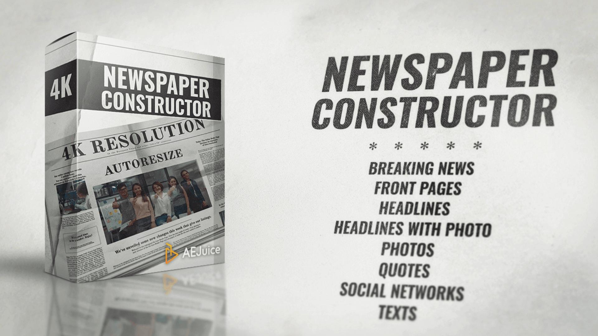 Newspaper Constructor